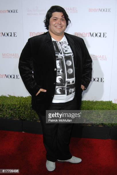 Harvey Guillen attends 8th Annual Teen Vogue Young Hollywood Party for Red Carpet at Paramount Studios on October 1 2010 in Hollywood California