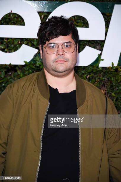 Harvey Guillen attends Teen Vogue's 2019 Young Hollywood Party Presented By Snap at Los Angeles Theatre on February 15 2019 in Los Angeles California