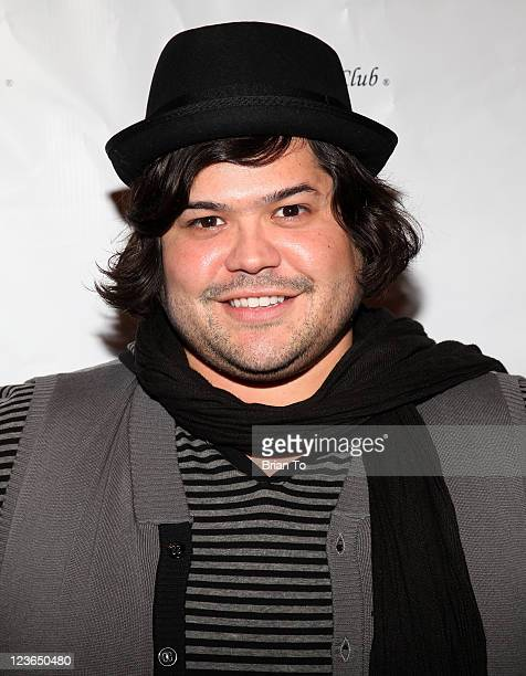 Harvey Guillen attends the 2nd Annual Jingle Bones Howliday event benefiting the SPCA LA at Beverly Hills Mutt Club on December 14 2010 in Beverly...