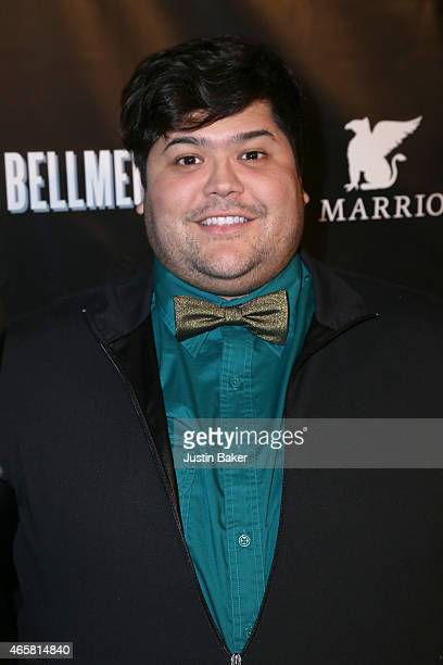 Harvey Guillen attends the Two Bellmen World Premiere at JW Marriot at LA Live on March 10 2015 in Los Angeles California