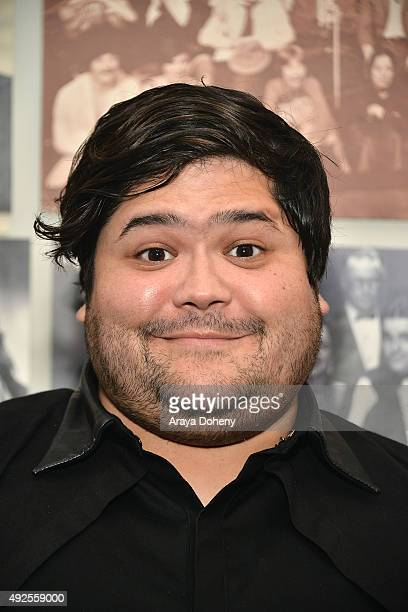 Harvey Guillen attends the You Paid To Die* II Premiere at The Groundlings Theater on October 13 2015 in Los Angeles California