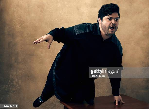 Harvey Guillen of the film 'What We Do in the Shadows' poses for a portrait at the 2019 SXSW Film Festival Portrait Studio on March 8 2019 in Austin...