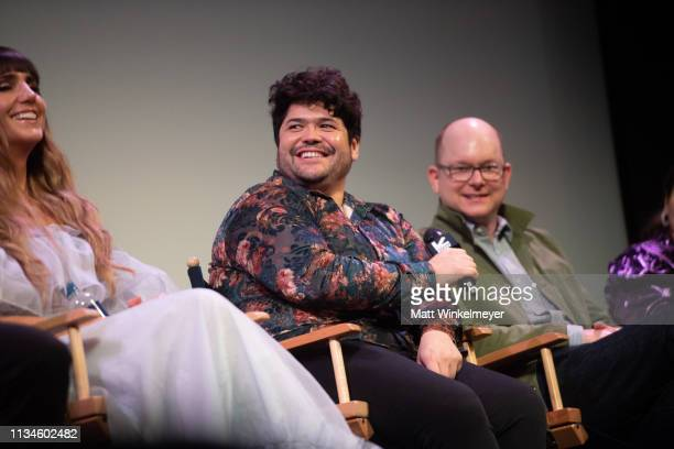 """Harvey Guillén attends the """"What We Do in the Shadows"""" Premiere 2019 SXSW Conference and Festivals at the Paramount Theater at Stateside Theater on..."""