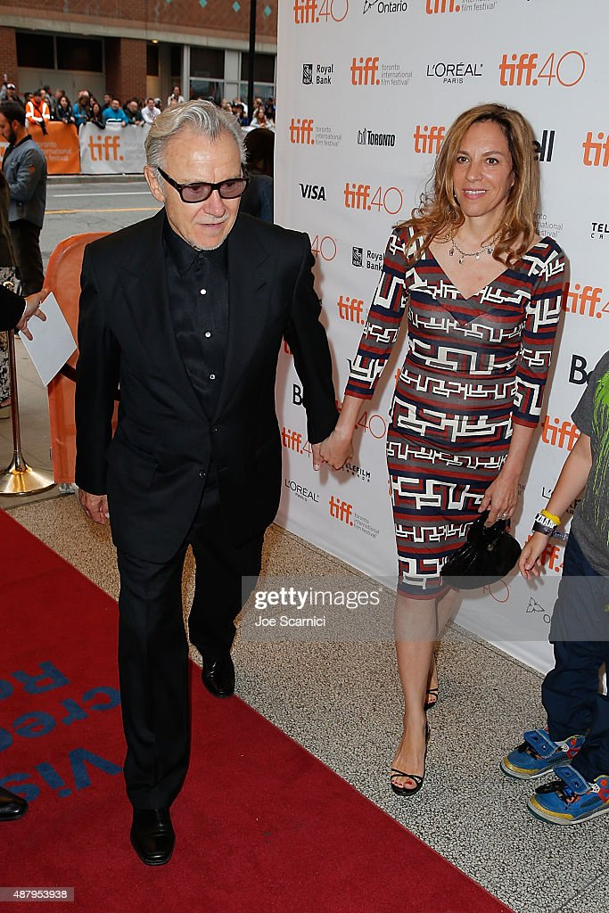 Harvey Keitel and Daphna Kaster attend 2015 Toronto International Film Festival - 'Youth' Premiere at The Elgin on September 12, 2015 in Toronto, Canada.