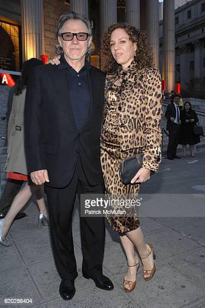 Harvey Keitel and Daphna Kastner attend VANITY FAIR Tribeca Film Festival Party hosted by GRAYDON CARTER ROBERT DE NIRO and RONALD PERELMAN at The...