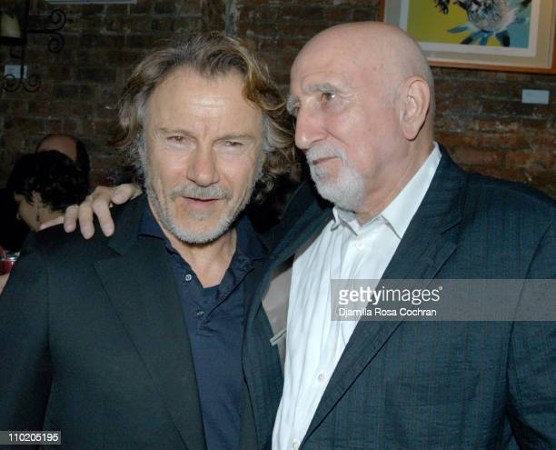 Harvey Keitel and Dominic Chianese during When Will I Be Loved New York Premiere After Party at Ruby Falls in New York City New York United States