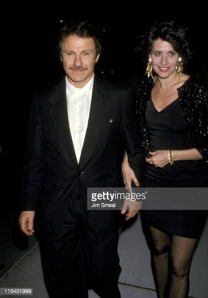 Harvey Keitel and Lorraine Bracco during The Dream Team Los Angeles Premiere at Universal Studios in Los Angeles California United States