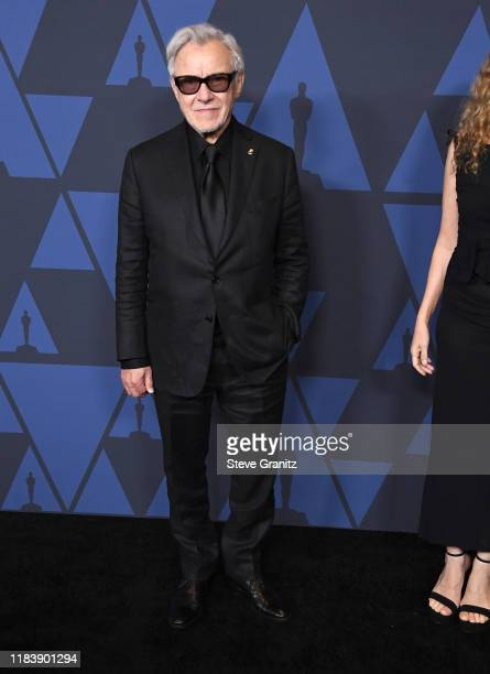 Harvey Keitel arrives at the Academy Of Motion Picture Arts And Sciences' 11th Annual Governors Awards at The Ray Dolby Ballroom at Hollywood...