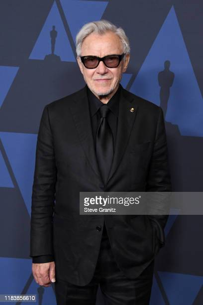 Harvey Keitel attends the Academy Of Motion Picture Arts And Sciences' 11th Annual Governors Awards at The Ray Dolby Ballroom at Hollywood & Highland...