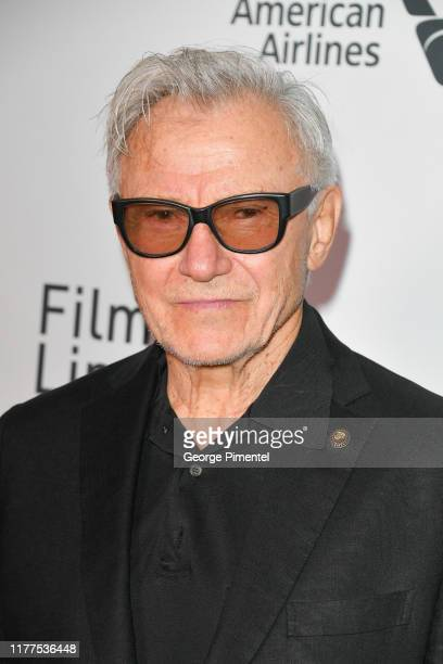 "Harvey Keitel attends ""The Irishman"" premiere during the 57th New York Film Festival at Alice Tully Hall, Lincoln Center on September 27, 2019 in New..."
