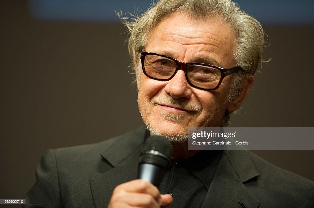 Harvey Keitel attends the Tribute to Quentin Tarantino, during the 5th Lumiere Film Festival, in Lyon.