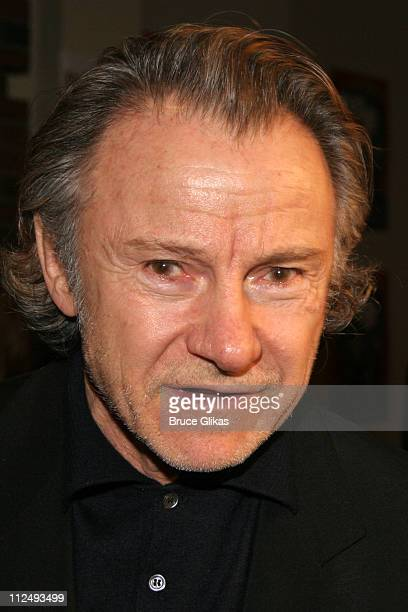 Harvey Keitel during Julius Caesar on Broadway Arrivals April 3 2005 at The Belasco Theater in New York City New York United States