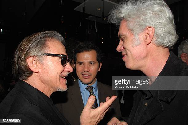 Harvey Keitel John Leguizamo and Jim Jarmusch attend GUCCI and INTERVIEW MAGAZINE host premiere and afterdinner for THE DIVING BELL and the BUTTERFLY...