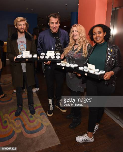 Harvey Kirby Ross Jonathan Ross Jane Goldman and guest attend a screening of mother hosted by Collette Cooper and Paramount Pictures in collaboration...