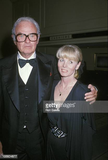 Harvey Korman and wife Deborah Korman attend the Center for the Partially Sighted's 8th Annual Night for Sight dinner on June 2 1989 at the Beverly...