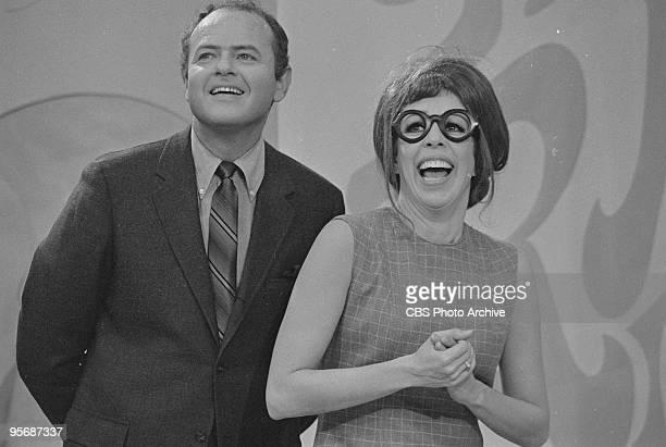Harvey Korman, Carol Burnett on THE CAROL BURNETT SHOW, December 2, 1967.