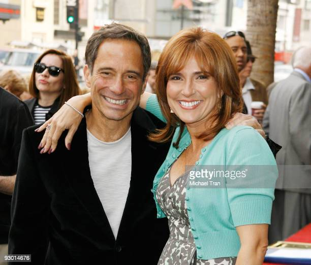 Harvey Levin and Marilyn Milian attend the Judge Joseph A. Wapner - 90th Birthday celebration and honoring him with a Star on The Hollywood Walk of...