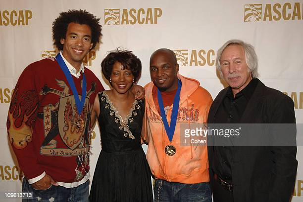 Harvey Mason Jr of the Underdogs Jeanie Weems Damon Thomas of the Underdogs and Todd Brabec