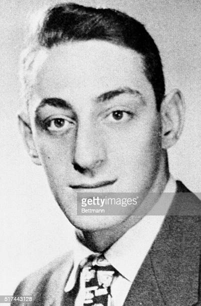 Harvey Milk who was shot and killed along with Mayor George Moscone 11/27 is shown as he appeared in the 1951 edition of his college yearbook Milk...
