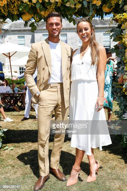 Harvey Newton Hayden and Louise Rumball attend Cartier Style Et Luxe at The Goodwood Festival Of Speed Goodwood on July 15 2018 in Chichester England
