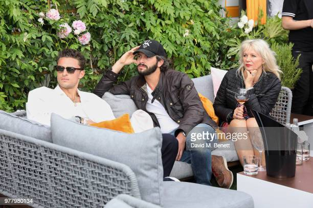 Harvey NewtonHaydon and Tommy Clarke attend Veuve Clicquot's Brose on the Roof at Selfridges on June 18 2018 in London England