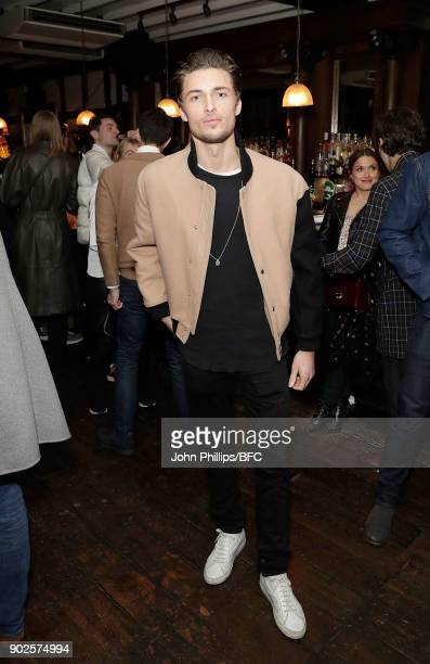 Harvey NewtonHaydon attends the LFWM Official Party Pub LockIn during London Fashion Week Men's January 2018 at The George on January 7 2018 in...