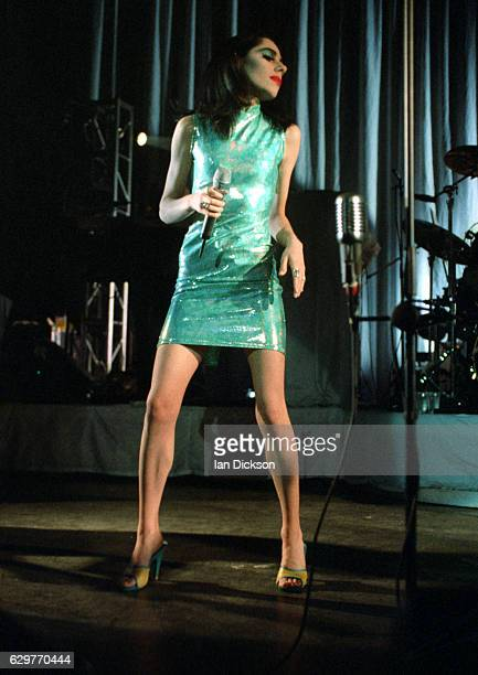 PJ Harvey performing on stage at The Forum Kentish Town London 11 May 1995