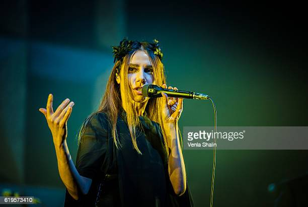 Harvey performs at O2 Academy Brixton on October 30 2016 in London England