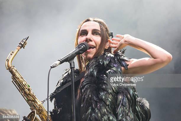 Harvey performs at Roskilde Festival on June 30 2016 in Roskilde Denmark