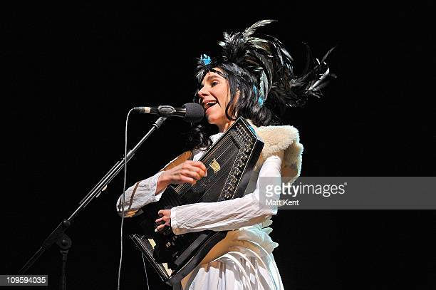 Harvey performs at the Troxy on February 28 2011 in London England