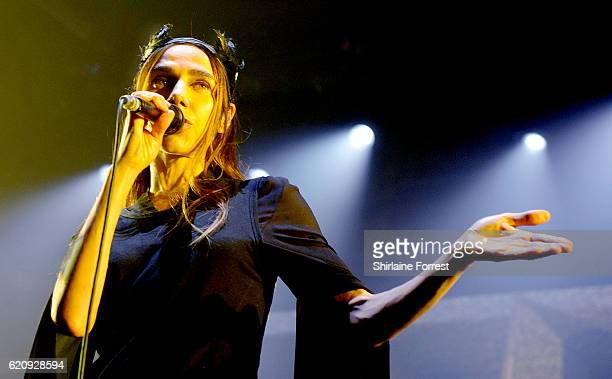 Harvey performs at Victoria Warehouse on November 3 2016 in Manchester England