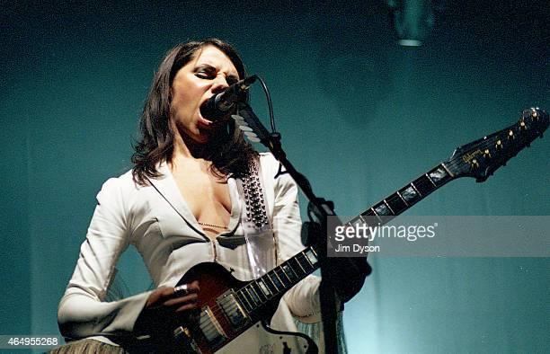 Harvey performs live on stage at Tate Modern on September 1 2003 in London United Kingdom