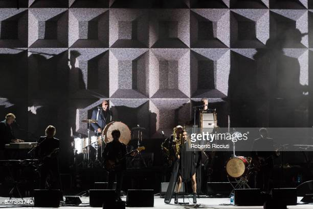 Harvey performs on stage at Edinburgh Playhouse as part of the 70th Edinburgh International Festival on August 7 2017 in Edinburgh Scotland