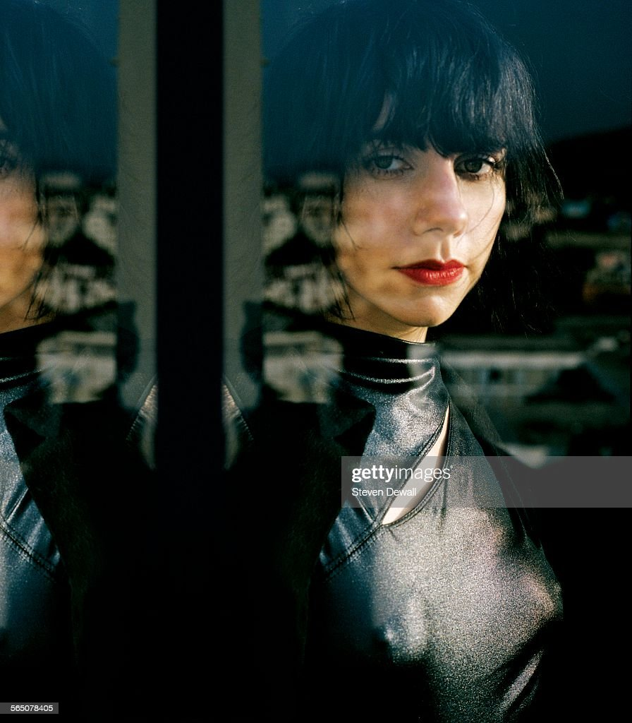 PJ Harvey poses for a portrait in Los Angeles, California, United States, 22nd August 2008.