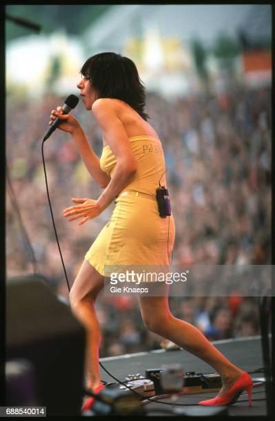 PJ Harvey Rock Werchter Festival Werchter