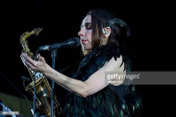 PJ Harvey singer GB performs on June 20 at Zitadelle Spandau Berlin Germany