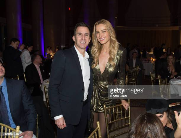 Harvey Spevak and Petra Nemcova attend the All Hands and Hearts Smart Response Third Annual Fight For Education gala at Cipriani Wall Street on...