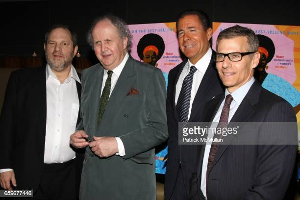Harvey Weinstein Alexander McCall Richard Plepler and Mike Lombardo attend HBO Presents A Screening Of 'The No 1 Ladies' Detective Agency' at Time...