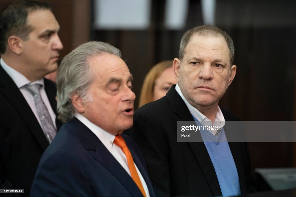 Harvey Weinstein Turns Himself In After Sex Assault Investigation In NYC : News Photo