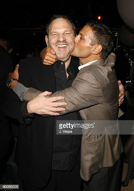 Harvey Weinstein and Ari Emmanuel