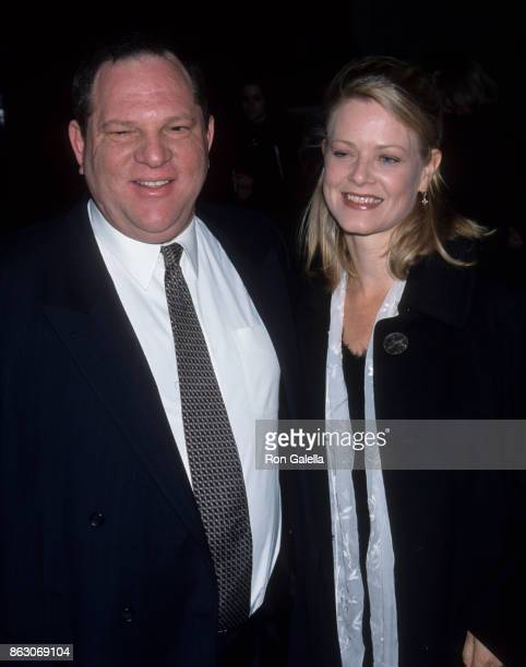 Harvey Weinstein and Eve Chilton Weinstein attend 64th Annual New York Film Critics Cirlce Awards on January 10 1999 at Windows on the World in New...
