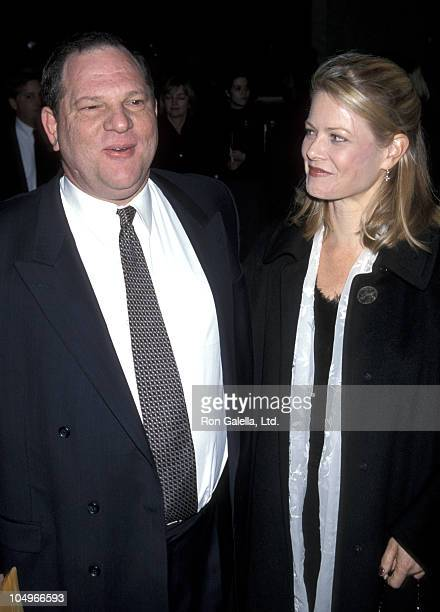 Harvey Weinstein and Eve Weinstein during 64th Annual New York Film Critics Circle Awards at Windows On The World in New York City New York United...