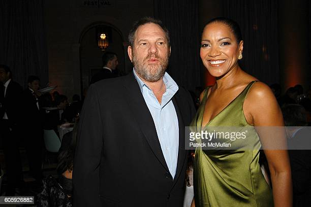 Harvey Weinstein and Grace Hightower attend VANITY FAIR Tribeca Film Festival Party hosted by Graydon Carter and Robert DeNiro at The State Supreme...