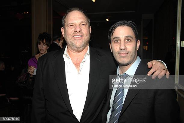 Harvey Weinstein and Jason Weinberg attend SAKS FIFTH AVENUE'S 'UNFORGETTABLE EVENING' Benefiting Entertainment Industry Foundation's Women's Cancer...