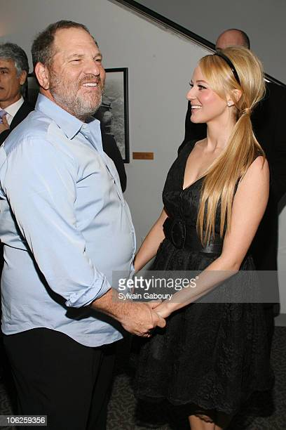 Harvey Weinstein and Jewel during The Weinstein Companys' 'Arthur and the Invisibles' New York Premiere Arrivals at DGA Theater at 110 West 57th...