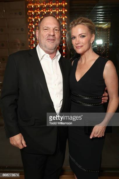 Harvey Weinstein and Megyn Kelly attend The Hollywood Reporter 35 Most Powerful People In Media 2017 at The Pool on April 13 2017 in New York City