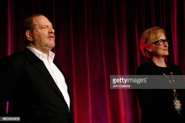 Harvey Weinstein and Meryl Streep attend CHRISTOPHER AND DANA REEVE FOUNDATION Host A MAGICAL EVENING GALA at Cipriani Wall Street on November 28...