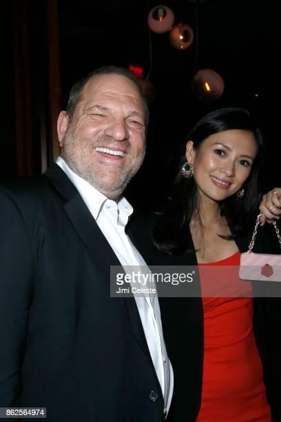 Harvey Weinstein and Ziyi Zhang attend The New York Premiere of THE GRANDMASTER at Regal EWalk Stadium 13 on August 13 2013 in New York City