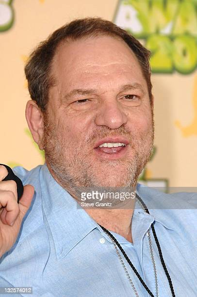 Harvey Weinstein arrives at Nickelodeon's 2009 Kids' Choice Awards at UCLA's Pauley Pavilion on March 28 2009 in Westwood California