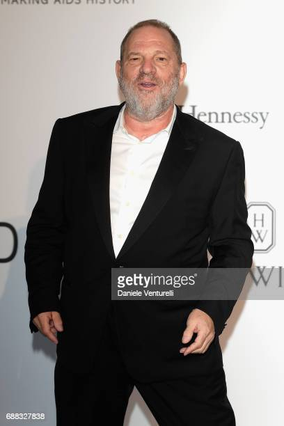 Harvey Weinstein arrives at the amfAR Gala Cannes 2017 at Hotel du CapEdenRoc on May 25 2017 in Cap d'Antibes France